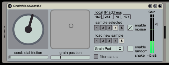 The Grain Machine v0.1