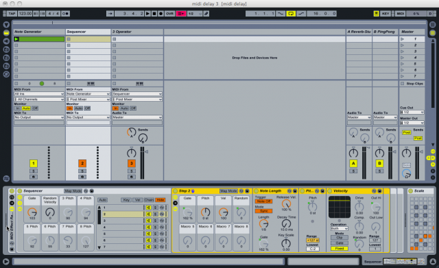Live Instrument Reference  Ableton Reference Manual