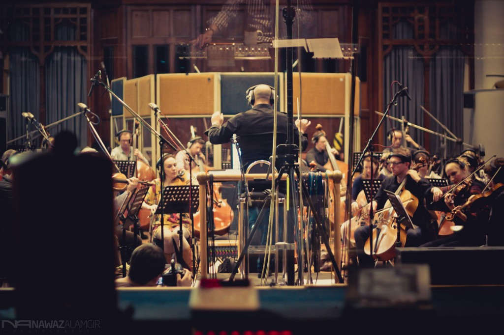 English Session Orchestra at AIR Lindhurst
